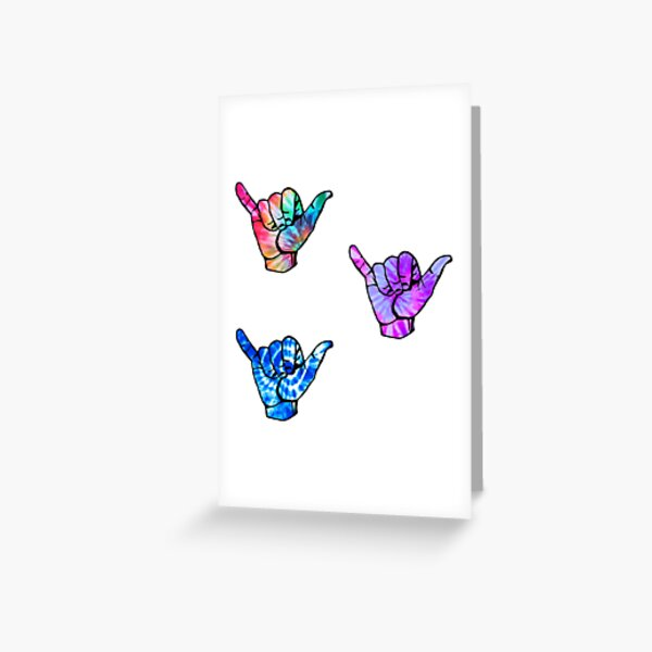 tiny lil cowabunga handz Greeting Card