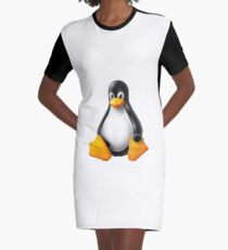 Linux Penguin – Tux Graphic T-Shirt Dress