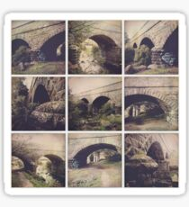 Hipstamatic Collage #11 [Coburg Lake] Sticker