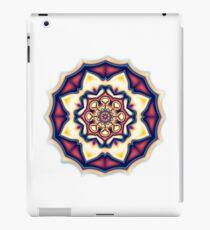 Mandala kaleidoscope geometric fractal symbol 1 iPad Case/Skin