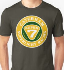 CATERHAM SUPERLIGHT Racing 60 Years Super7 Unisex T-Shirt