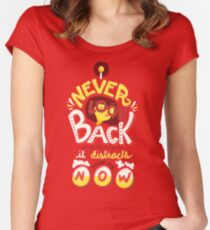 Edna Mode Women's Fitted Scoop T-Shirt