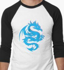 Blue dragon star  Men's Baseball ¾ T-Shirt
