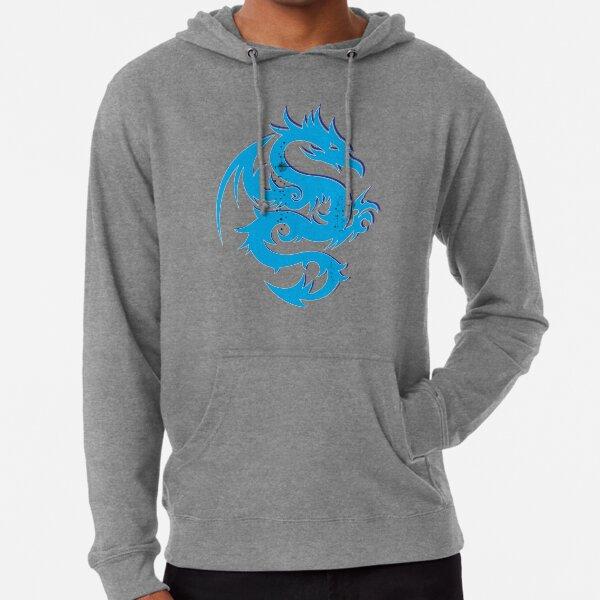Blue dragon star  Lightweight Hoodie