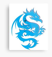 Blue dragon star  Metal Print