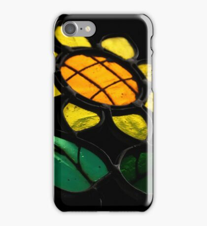 Flowers 1 - Stained Glass - iPhone Case/Skin
