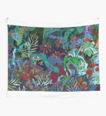 The Sea Garden  Wall Tapestry