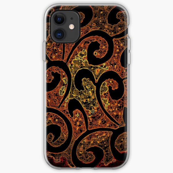 Abstract Molecules  iPhone Soft Case