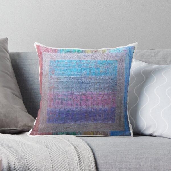 Hyrogliphyics by Allan Maticic Art Throw Pillow