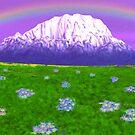 Rainbow Mountain by Walter Colvin