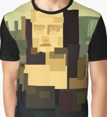 Mona Lisa (Gioconda) simplified  Graphic T-Shirt