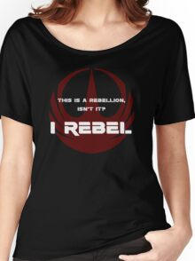 I Rebel Women's Relaxed Fit T-Shirt