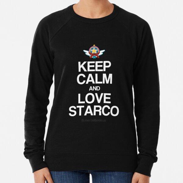 Keep Calm and Love Starco Lightweight Sweatshirt