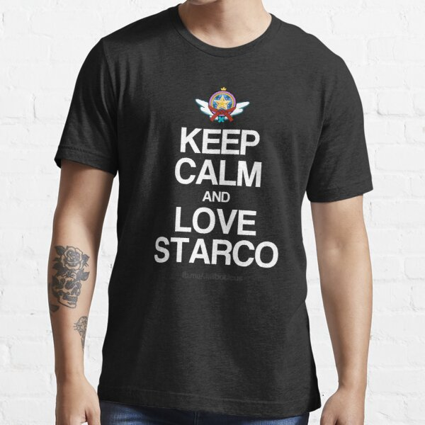 Keep Calm and Love Starco Essential T-Shirt