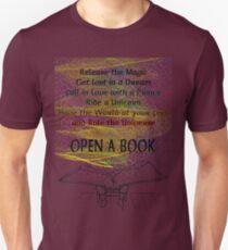 The magic of reading Unisex T-Shirt