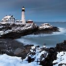 Cape Elizabeth Lighthouse by Randy  LeMoine