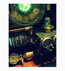 Steampunk Time Machine 1.0 Photographic Print