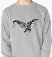 Floral Whale Pullover