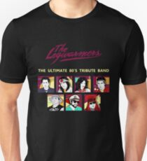 the legwarmers - the ultimate 80's tribute band Unisex T-Shirt