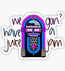 Juke Jam Sticker