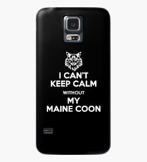 Maine Coon Cat Case/Skin for Samsung Galaxy