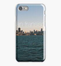 San Fransisco sunset skyline iPhone Case/Skin