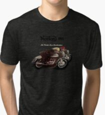 Norton Vintage TT Motorcycle Motorbike Poster from 1963 by MotorManiac Tri-blend T-Shirt