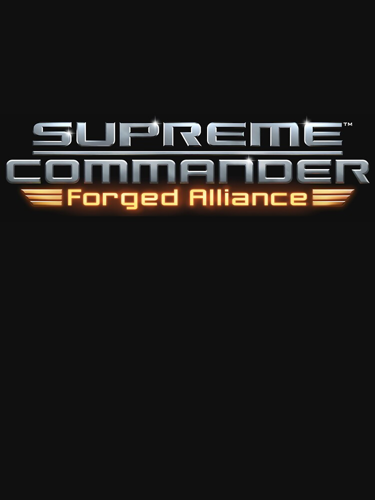 Supreme Commander Forged Alliance Logo Unisex T Shirt By