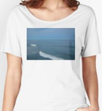 jersey shore waves Women's Relaxed Fit T-Shirt