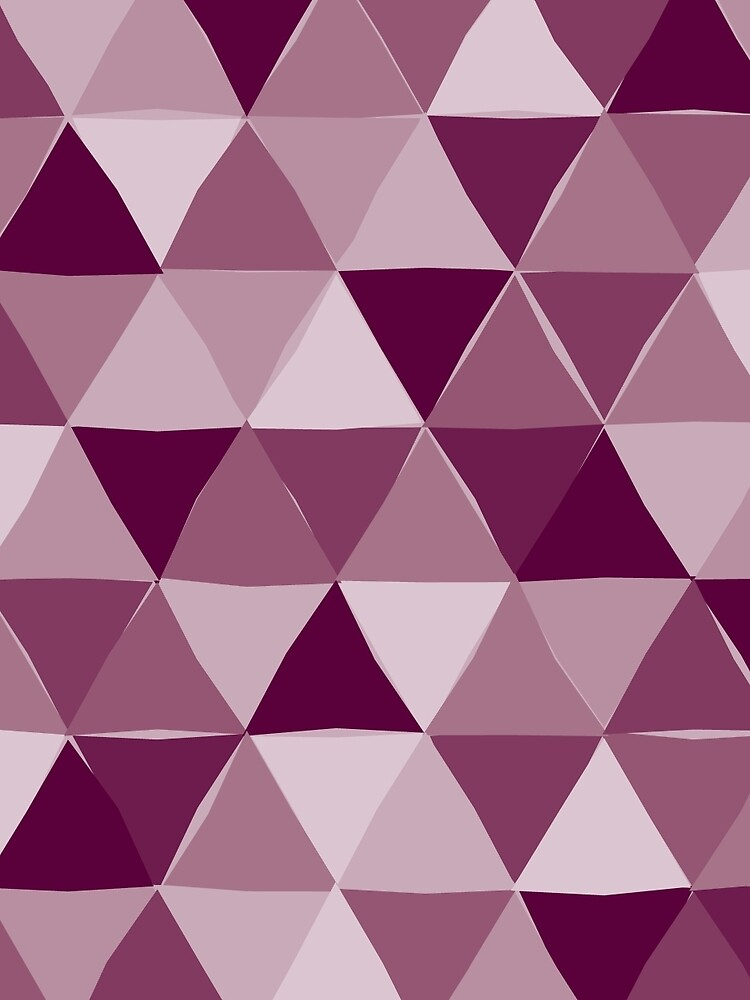 Purple Triangles by figandfossil