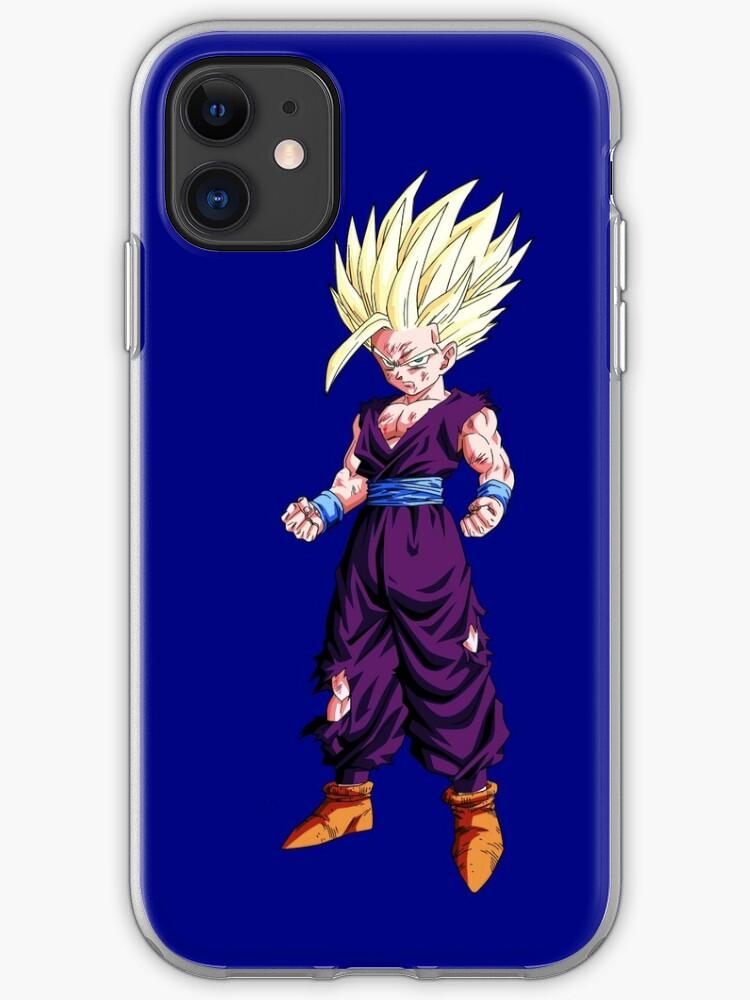 Teen gohan super saiyan iphone case