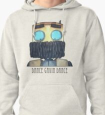 Dance Gavin Dance Character (W/ Text) Pullover Hoodie