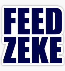 Feed Zeke Sticker