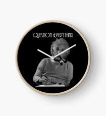 Question Everything Clock