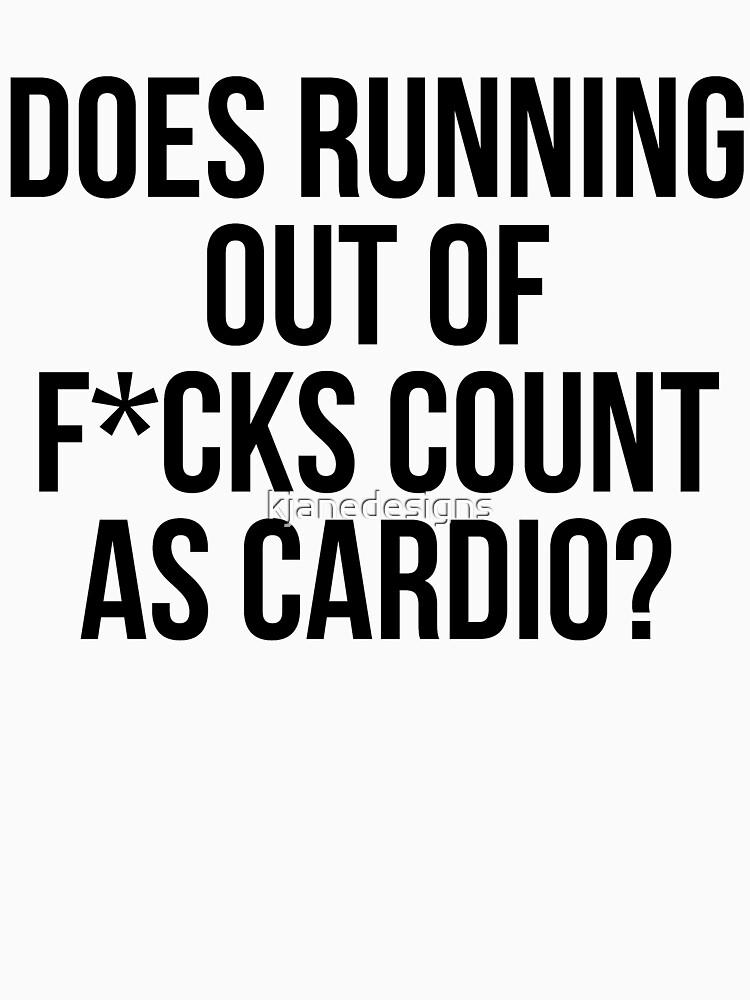 Hat das Laufen von F * cks zählen als Cardio? von kjanedesigns