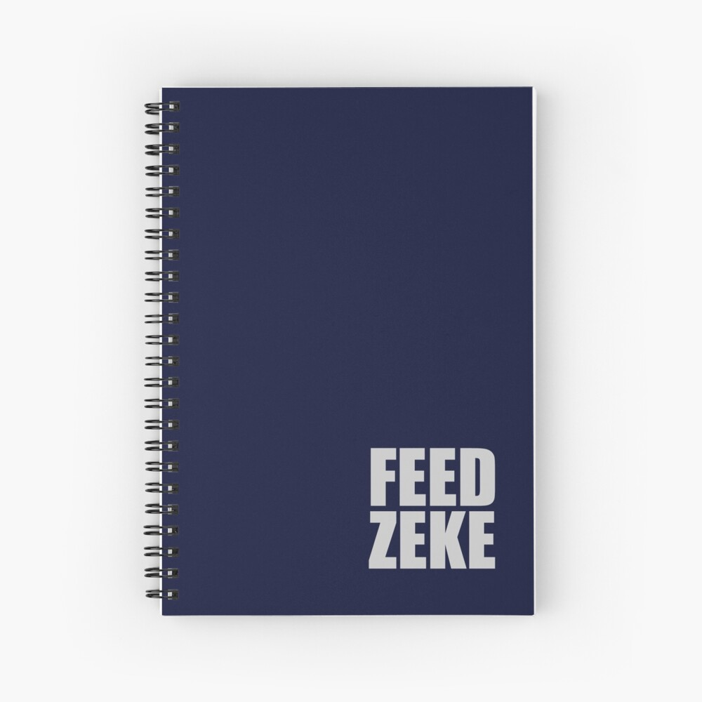 Feed Zeke Spiral Notebook