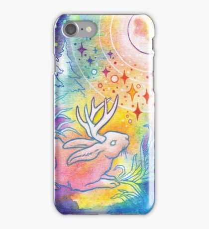 Jackalope of the Night iPhone Case/Skin