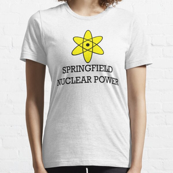 Energía nuclear de Springfield Camiseta esencial