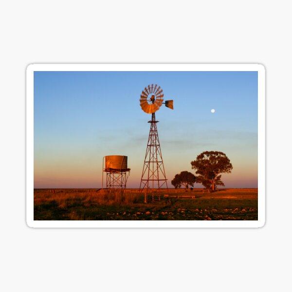 Evening Glow - Narrandera Sticker