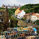 Staithes, Yorkshire by Sue Leonard