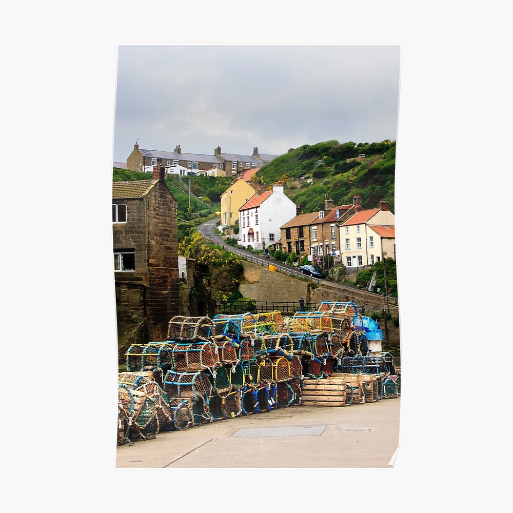 Staithes, Yorkshire Poster