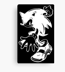 Sonic the Hedgehog [White] Canvas Print