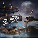 PIRATE GHOST SHIP by RonelBroderick
