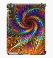 """Pinwheel Dreams"" -  Abstract Spiral Fractal Art iPad Case/Skin"