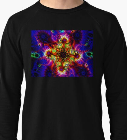 Fired Synapse of the Holographic Mind Lightweight Sweatshirt