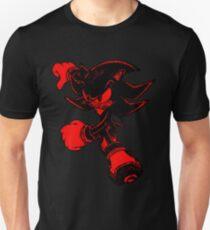 Shadow the Hedgehog [Noir et Rouge] T-shirt unisexe