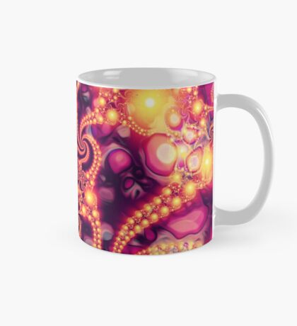 Falling Within (warm) - Psychedelic Fractal Abstract Mug