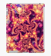 Falling Within (warm) - Psychedelic Fractal Abstract iPad Case/Skin