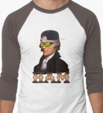 Basement Mastermind Alexander Hamilton (Politics) Men's Baseball ¾ T-Shirt
