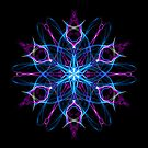 Lotus Heart Chakra Meditation -  Sacred Geometry Intuitive Energy Mandala. by Leah McNeir